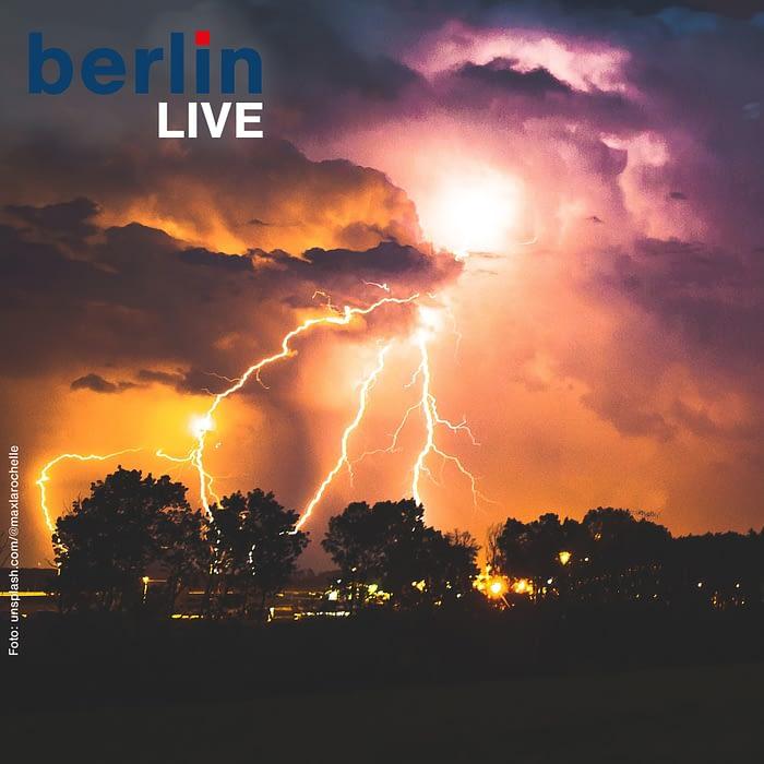Chaoswetter in Berlin und Brandenburg - Was tun bei Hagel und Gewitter